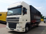 Camion DAF XF95 cu container, 4×2, second hand