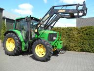 Tractor John Deere 6120 cu incarcator frontal