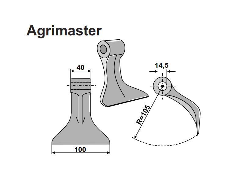 Set ciocane tocatoare Agrimaster